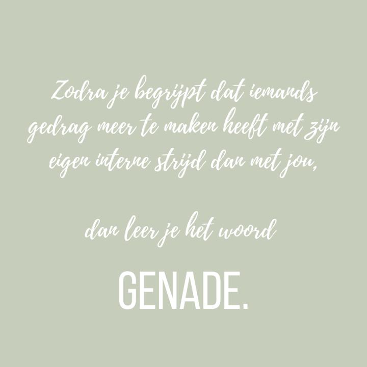 Genade/Grace