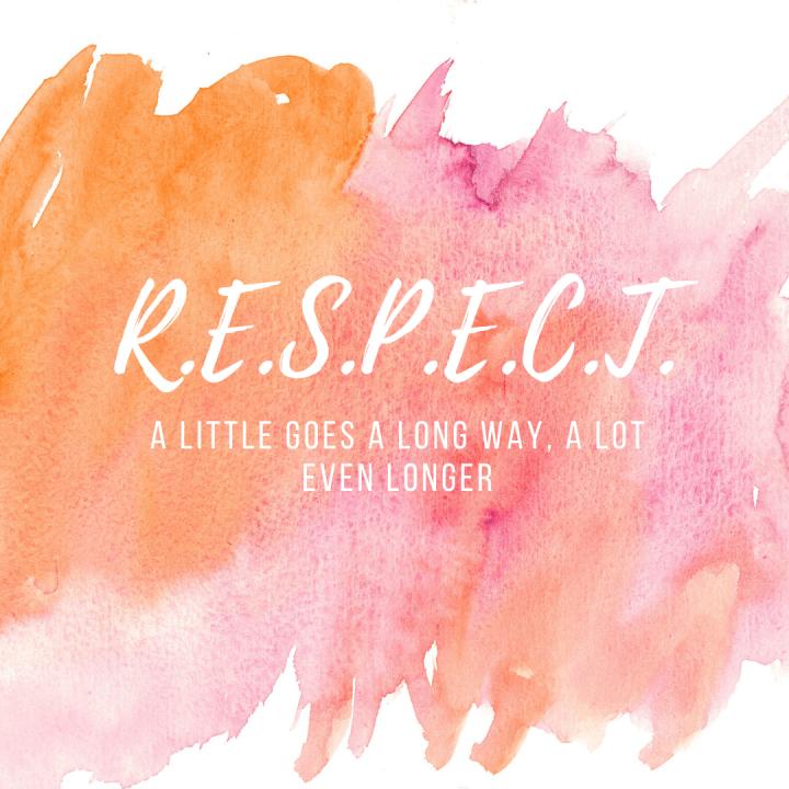 Eer-respect/Honor