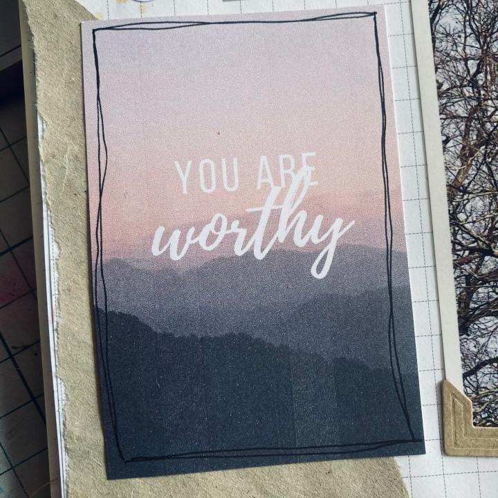 Feeling worthy?/ Wat iswaardevol?